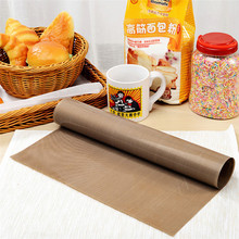 SEAAN Reusable Teflon Non Stick Baking Paper Oven Pastry Mat Heat Resistant Easy Clean BBQ Grill Sheet Macarons