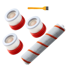 Zapasowy zestaw filtrów HEPA szczotka rolkowa do ręcznych akumulatorowych części zamienne do odkurzaczy Dreame V9