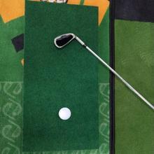 Golf Supplies  Practical Interior Golf Training Mat Training Tool Golf Training Aid Mat Eco-friendly   for Golf Lover