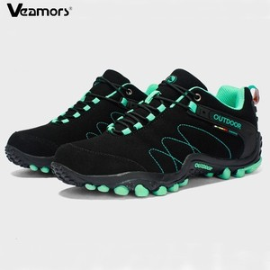 Image 1 - VEAMORS Men Outdoor Hiking Shoes Women Casual Jogging Sneakers Non slip Durable Tourism Camping Climbing Shoes Unisex