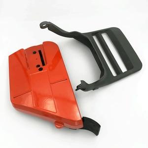Image 2 - Capa de embreagem para roda de caça, peça de proteção frontal tensor de alavanca de freio para husqvarna 365 371 372 372xp 362