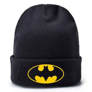 Toys Model Gift Deadpool Batman Superman Anime X-Men-Decoration for Children Hat Hip-Hop-Cap