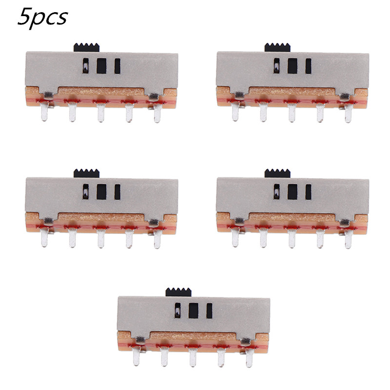 5Pcs SS-23E03G2(2P3T) Toggle Switch Drill Switch 3 Files Accessories Switch Button Switches