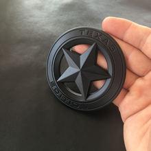 1 шт 3d металлическая эмблема «texas edition» щит пентаграмма