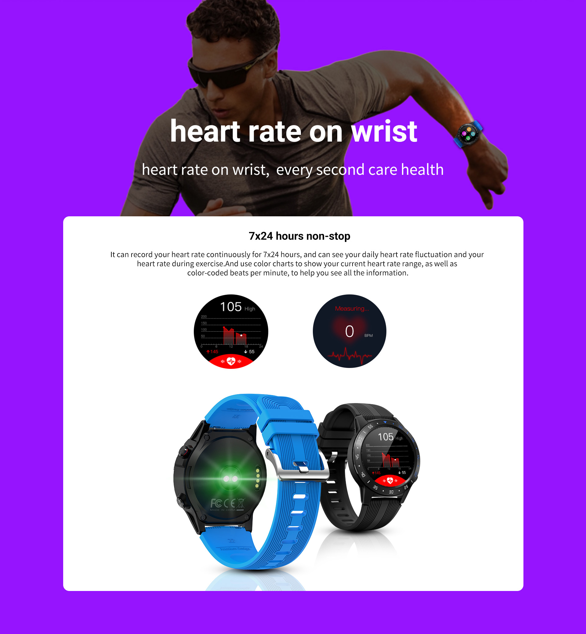 Hce6f9c0eafc349f7b4fcf8f7a0b84507X GPS Smartwatch Men With SIM Card Fitness Compass Barometer Altitude M5 Mi Smart Watch Men Women 2021 for Android Xiaomi