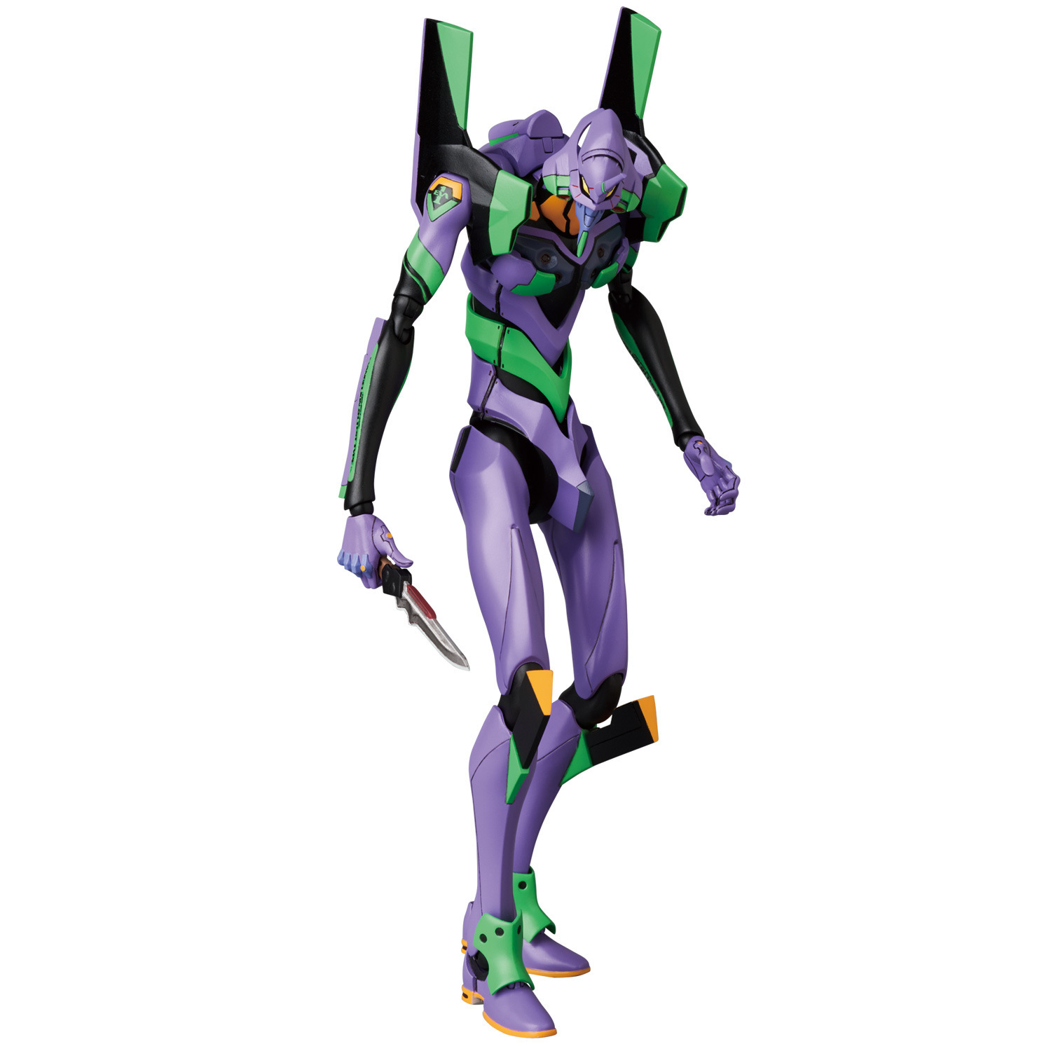 19cm Mafex 080 <font><b>EVA</b></font> EVANGELION TEST TYPE <font><b>EVA</b></font>-<font><b>01</b></font> PVC Action <font><b>Figure</b></font> Collection Classical Model Toy Christmas Gift image
