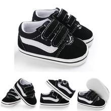 Обувь для новорожденных мальчиков; обувь с мягкой подошвой; обувь холщовые кеды; кроссовки; повседневная обувь