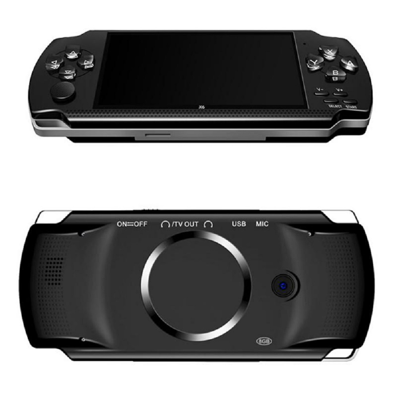Game-Console Handheld-Game-Players PSP 10-000-Games 64/128-Bit Support for 8G Built-In