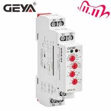 משלוח חינם GEYA GRI8 04 מעל הנוכחי ותחת הנוכחי הגנת ממסר 0.05A 1A 2A 5A 8A 16A הנוכחי ניטור מכשיר