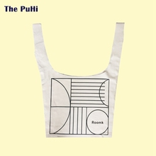 Canvas Bag Tote Cotton Female Cloth Shoulder Printing High Capacity Accept Sports Bags Large Shopping