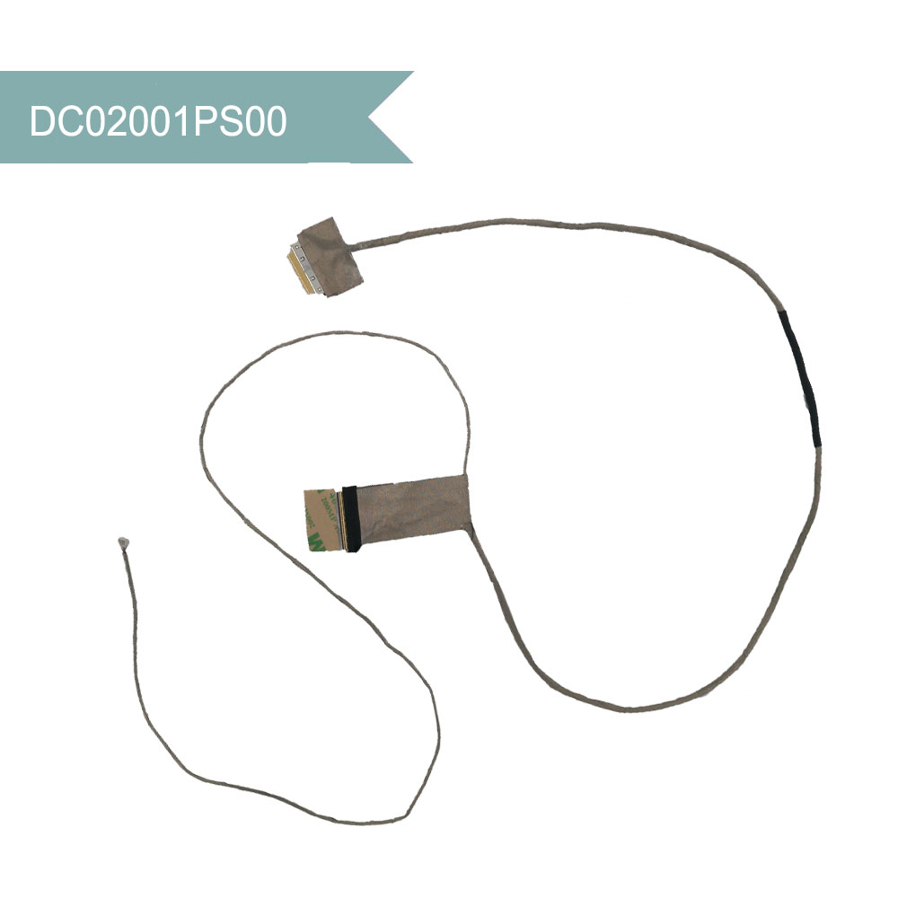 DC02001PS00 Original VIDEO SCREEN For Lenovo IdeaPad G505 G500 G510 Laptop LCD LED LVDS Video Cable