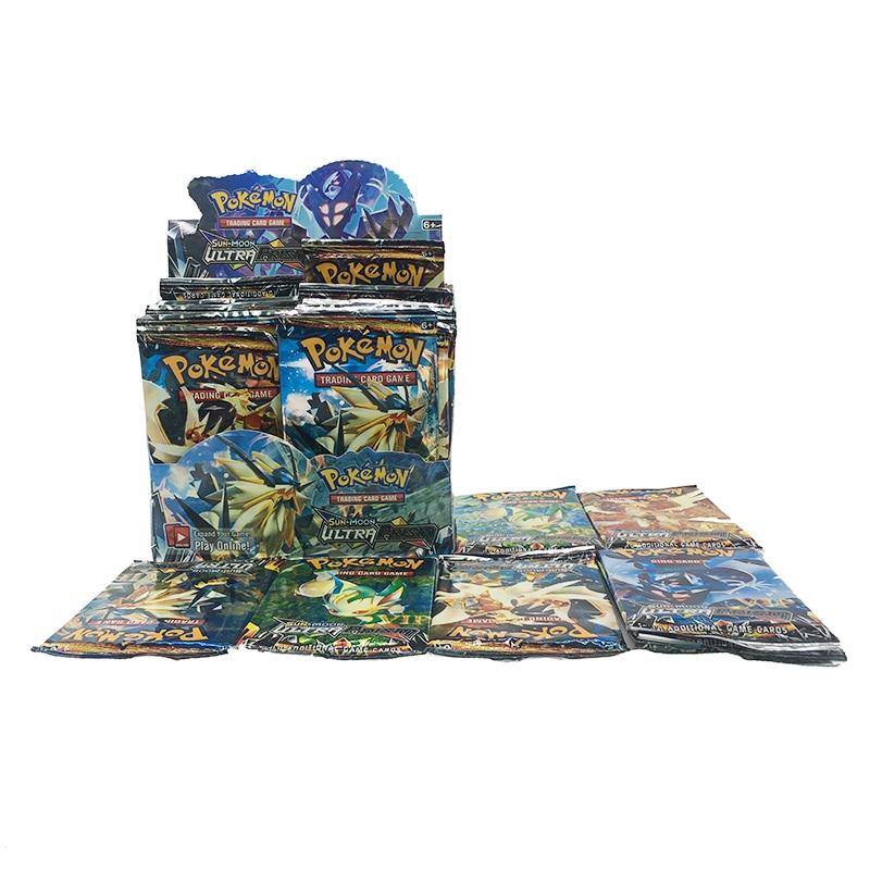 Pokemon Card 324PCS GX EX MEGA Sun Moon Ultra Prism Card Collectible Children Toys Gift
