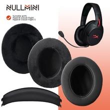 NullMini استبدال وسادات الأذن ل HyperX سحابة الطيران الطيران سماعات عقال سماعات الأذن كم
