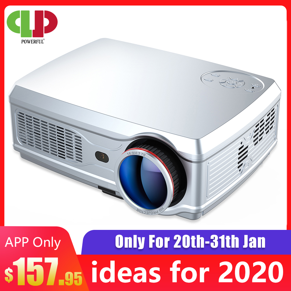 Puissant projecteur Full HD SV-358 1920*1080P LED proyector Android 7.1 (2G + 16G) avec Wifi Bluetooth support 4K Home Cinema Beamer