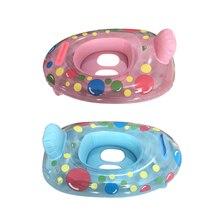 Inflatable Swim Pool-Toys Swim-Ring-Seat Float Water Fun Baby Kids Boat Cartoon-Ring