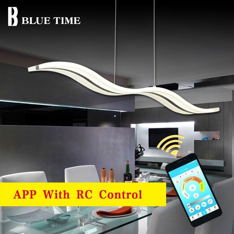 Lustres Modern Led Pendant Light For Dining Room Living Room Kitchen Luminaires 38W Led Pendant Lamp