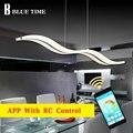 Современный светодиодный подвесной светильник для столовой, гостиной, кухни, l97см, 38 Вт, акриловый светодиодный подвесной светильник, подве...