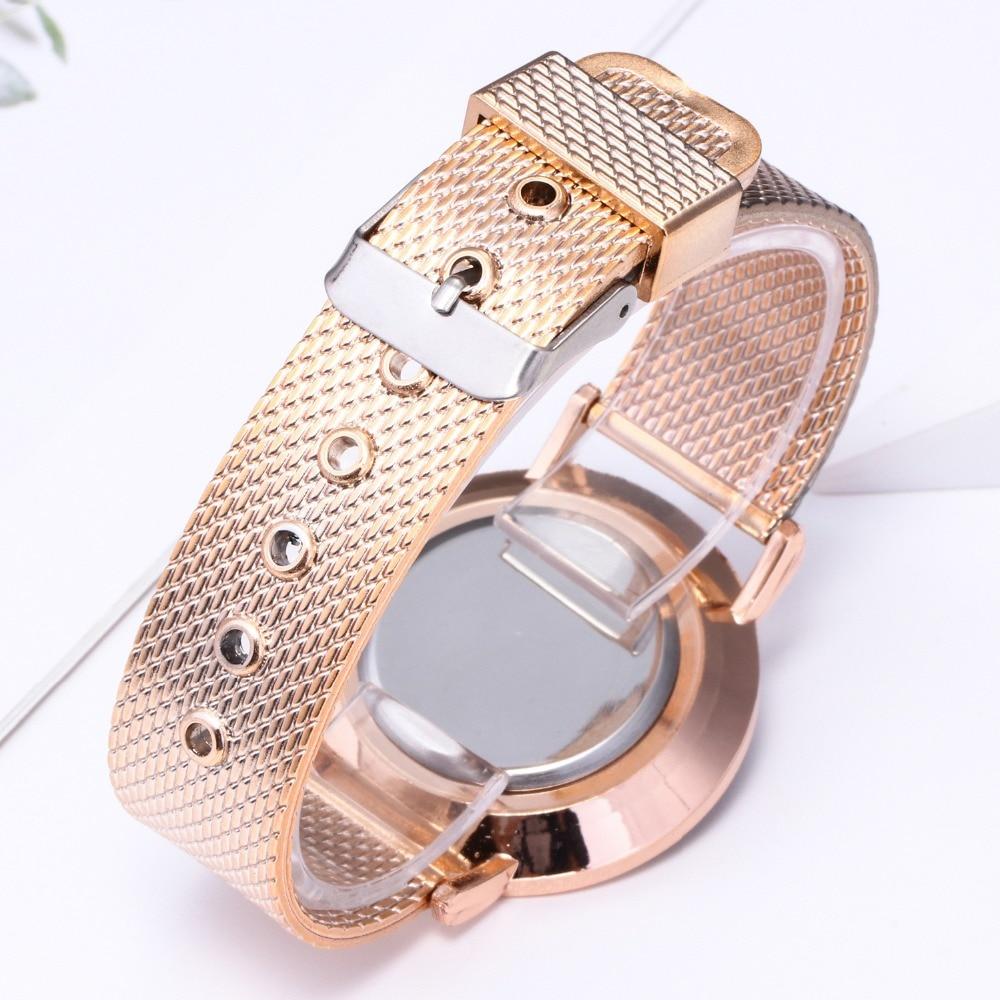 top luxury brand GENEVA Fashion Classic Women Watch Quartz Stainless Steel Wrist Watch Bracelet Watches Women Business relogio feminino reloj best gifts wholesale (14)