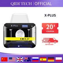Impressora industrial, qidi tech 3d impressora x-plus grande tamanho inteligente grau industrial mpresora 3d wi-fi função de alta precisão