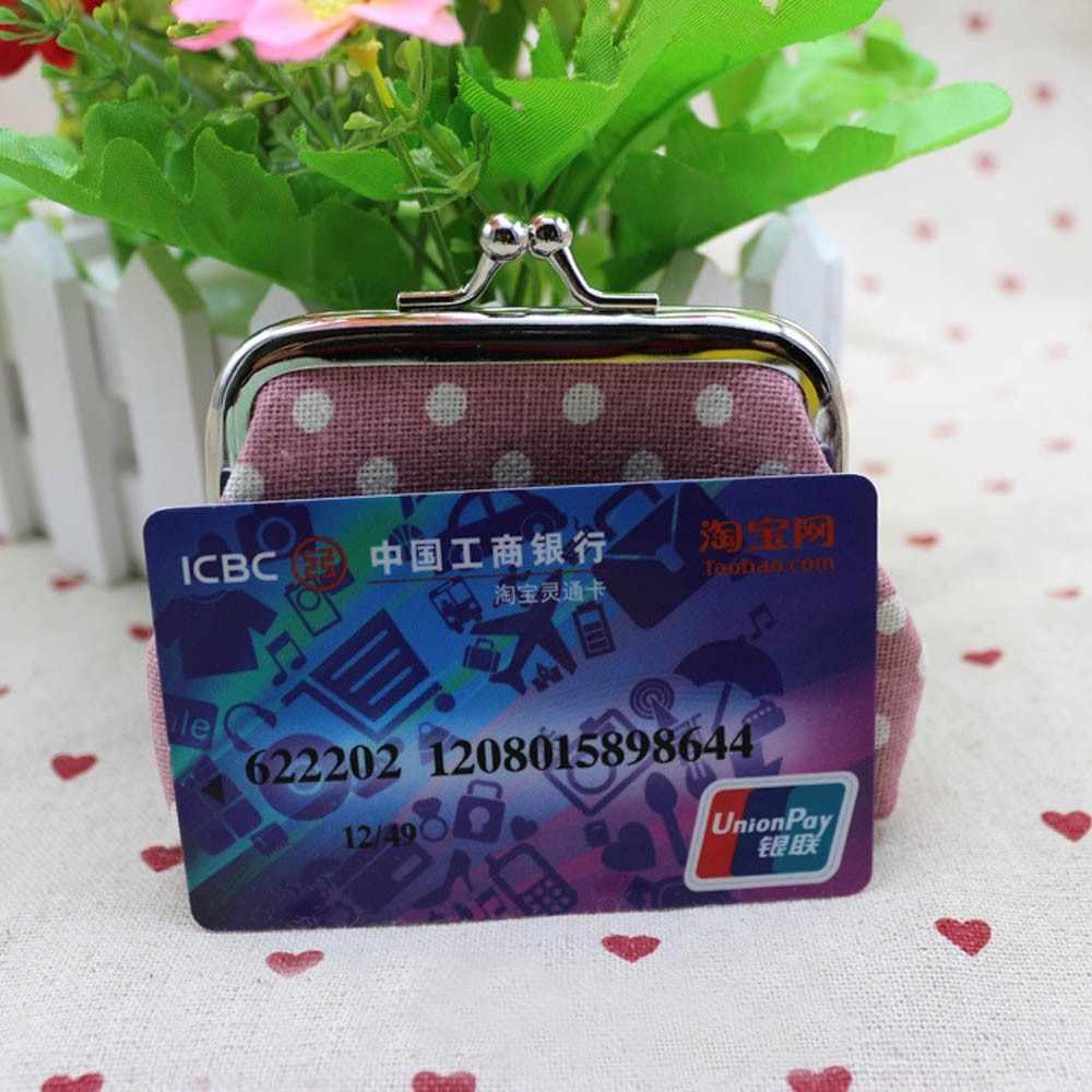 Mulheres meninas pequenas mini bolsa de moedas mini sacos kawaii bolinhas crianças moeda carteira crianças bolsa meninas kawaii carteira mudança