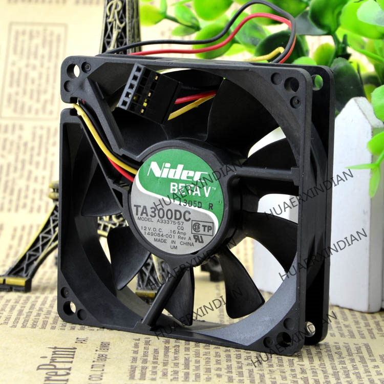 Original NEW A33375-57 12V 0.16A 8020 Motor Protection Cooling Fan