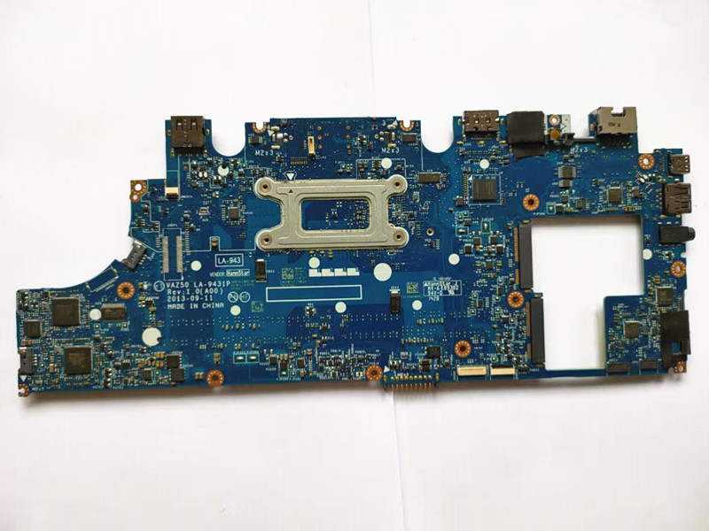 for dell latitude E7240 motherboard i5-4310 CN-0GMYR8 0GMYR8 VAZ50 LA-9431P laptop mainboard 100% well working 4