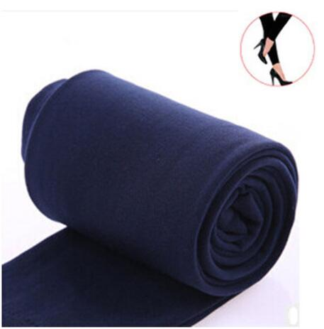 2020 Autumn winter woman thick warm leggings candy color brushed charcoal Stretch Fleece Pants Trample Feet Leggings 27