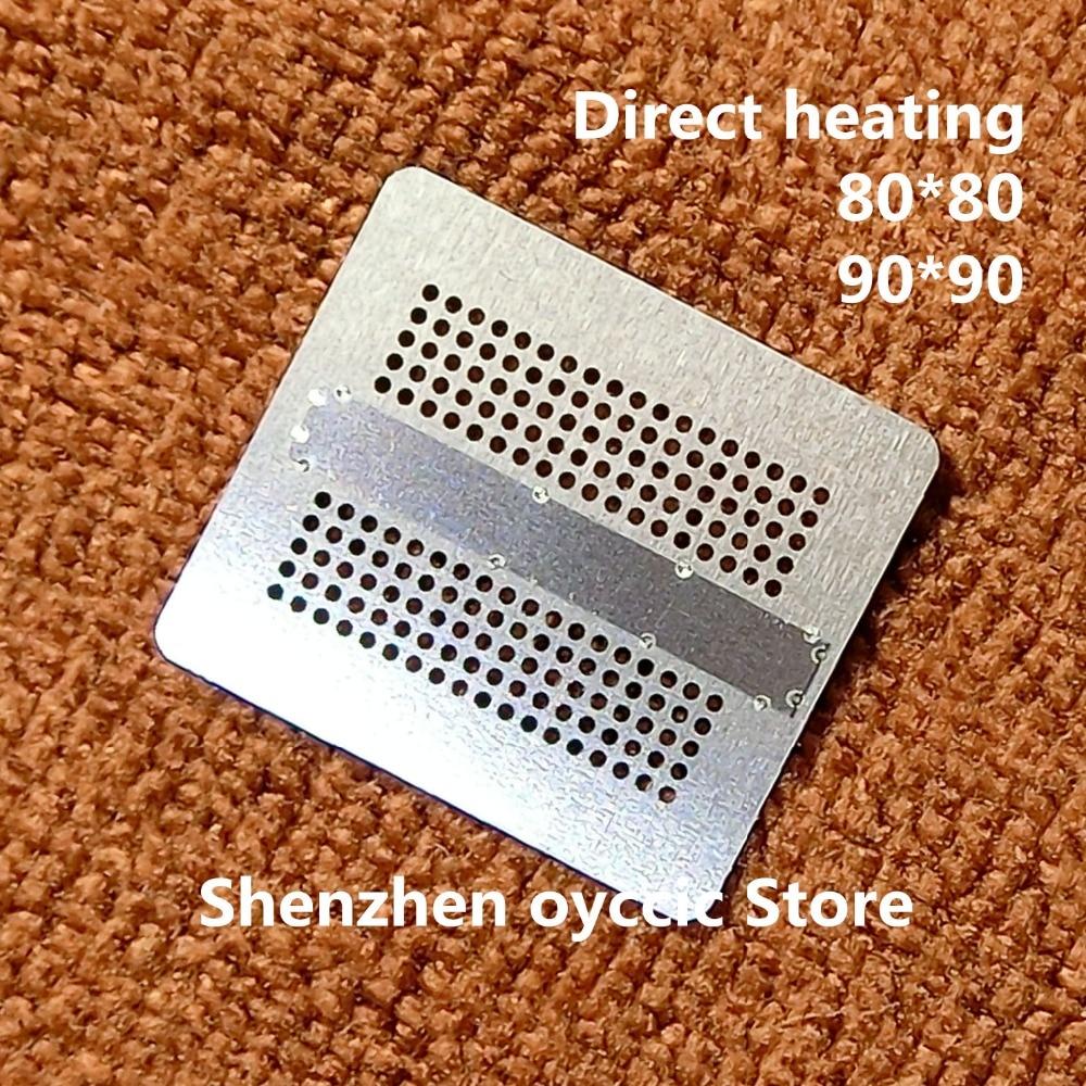 Direct Heating 80*80 90*90 K4Z80325BC-HC14 K4Z80325BC-HC16 K4ZAF325BM-HC14 K4ZAF325BM-HC16 180FBGA GDDR6 BGA Stencil Template