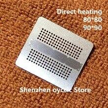 Directe Verwarming 80*80 90*90 K4Z80325BC HC14 K4Z80325BC HC16 K4ZAF325BM HC14 K4ZAF325BM HC16 180 Fbga GDDR6 Bga Stencil Template