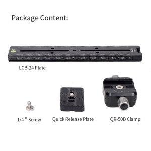 Image 5 - Xiletu LCB 24B カメラトラックドリースライダーフォレールスライダー & クランプと qr プレート満たすアルカスイス一眼レフカメラ用キヤノン