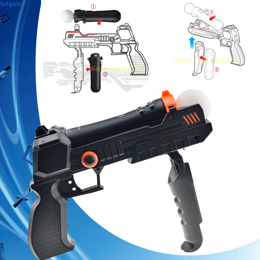 Sense Accessories Precision Shot Armas Arma Joystick Hand Gun For Sony PlayStation 3 PS3 PS Move Motion Controller Shooting Game image