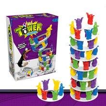 Torre de pingüino para niños, torre de juegos Crazy Penguin Crazy, torre de choque, juguete para niños, regalo de Navidad