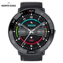 Часы north edge мужские цифровые спортивные Смарт часы для фитнеса