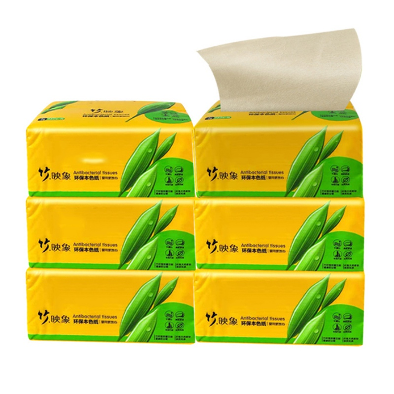 360 Sheet Bamboo Pulp Paper Towel Home Kitchen Paper Towels Dining And Bar Supplies Bathroom Toilet Paper #