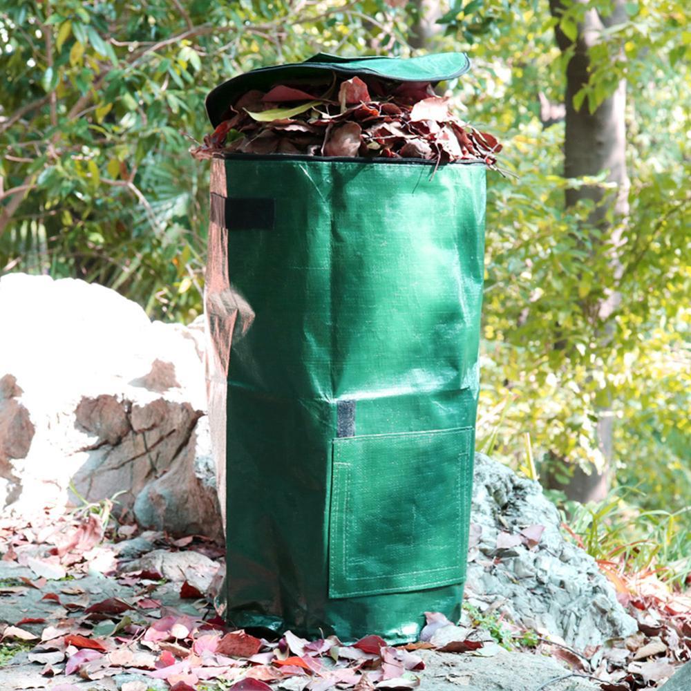 Patio de jardín de cocina bolsa de abono ecológico de residuos 80L plantador de cocina desecho de residuos bolsa de abono orgánico 25ft-100ft Multi-funcional manguera de jardín expandible Flexible manguera de agua Kits de riego con PISTOLA DE PULVERIZACIÓN sistema de riego