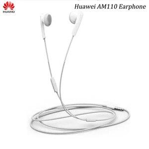 Image 1 - Auricolari originali HUAWEI Honor AM110 cuffie da 3.5mm con telecomando Mic per P7 P8 P9 Honor 9 10 V8 V10 V20 8C 8A 8X Mate 7 8 9