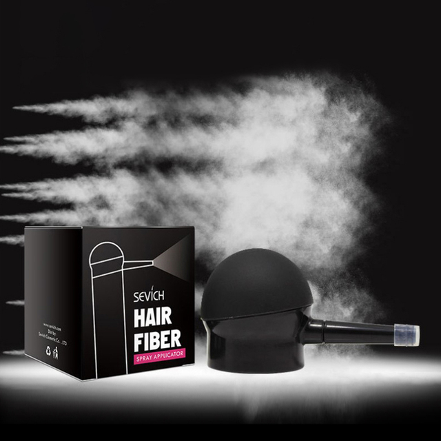 Nozzle Spray Applicator Pump Tool Easy Usage Hair Building Fiber Powders Applicator for Spray Bottle