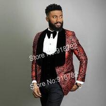 Men Suits For Wedding Floral Tuxedo 2020 Latest Coat Pant Designs 3 Pi