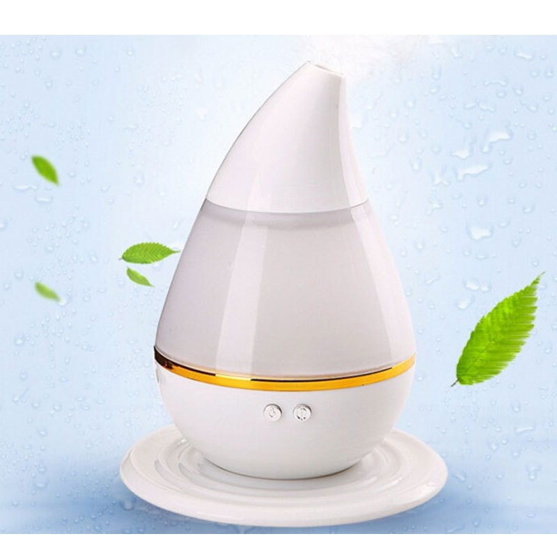 250ml Colorful USB Water Dropping Humidifier Air Conditioning Appliances Humidifiers Household Small Appliances Accessories