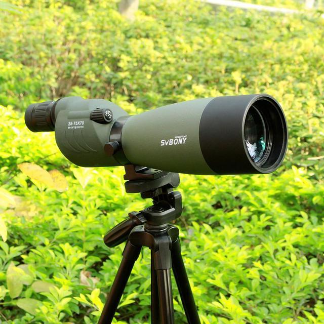 SVBONY Spotting Scope 25 75x70 Zoom Telescope SV17 BAK4 Prism Powerful Monocular Hunting Spyglass Waterproof Long Range Optics