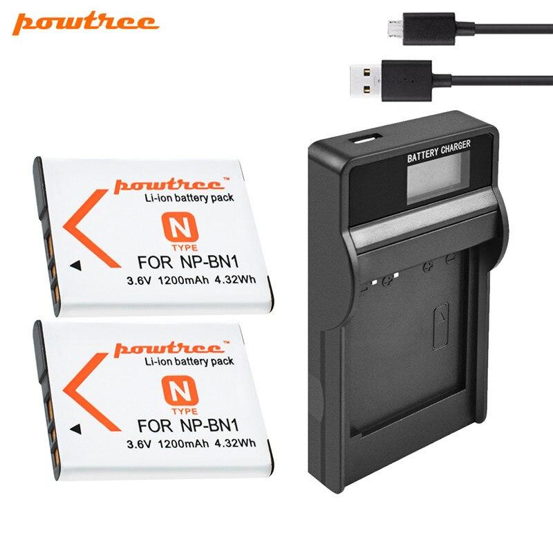 Cargador Baterías NP-BN1 NPBN1 para Sony Cyber-shot DSC-W330 DSC-W350