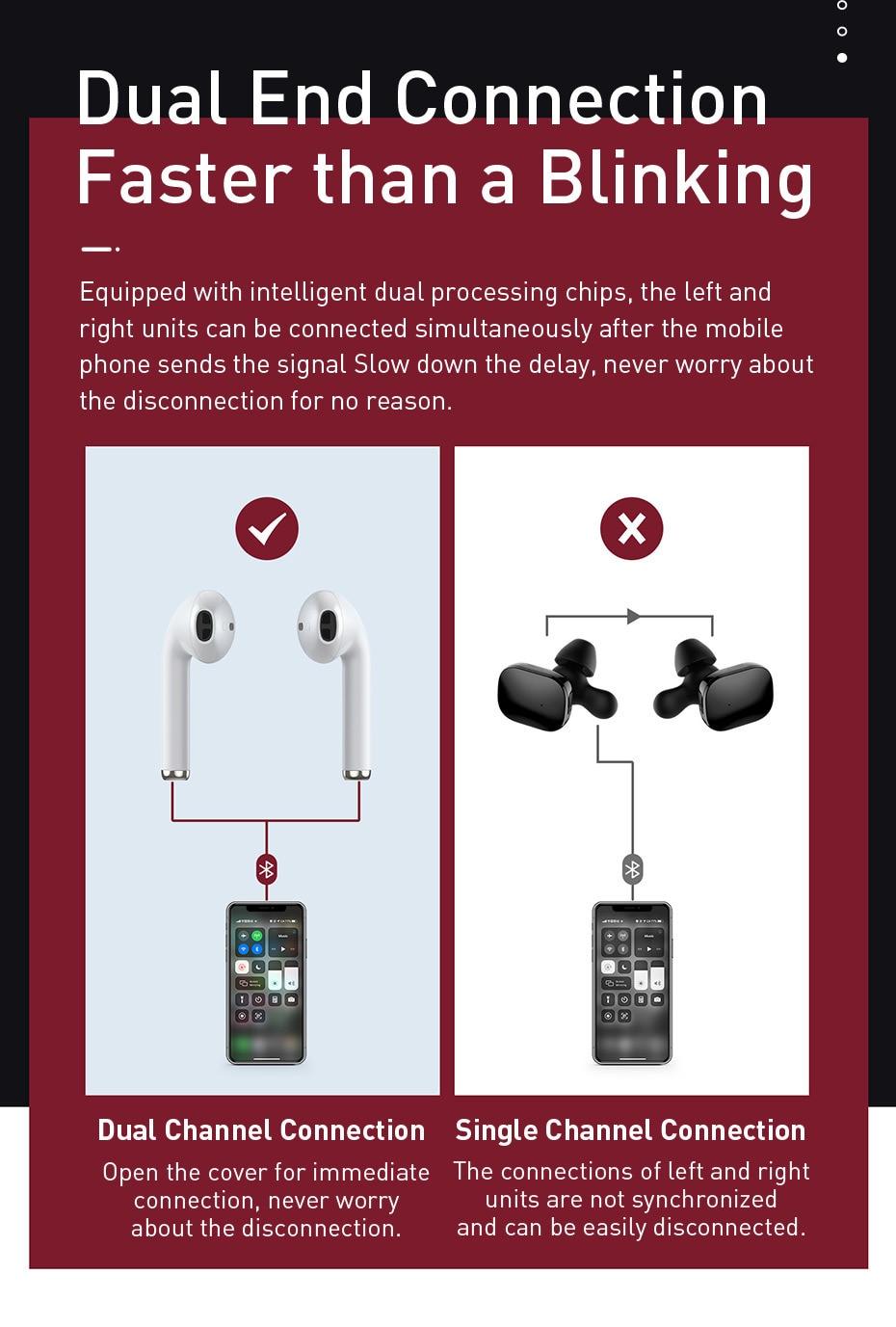 Baseus Encok W04 Pro TWS True Wireless Earphones With Wireless Charging 5