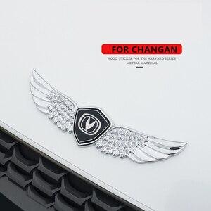 Металлическая 3d-наклейка на автомобиль, для Changan CS15, CS35plus, CS55plus, CS75PLUS, CS95