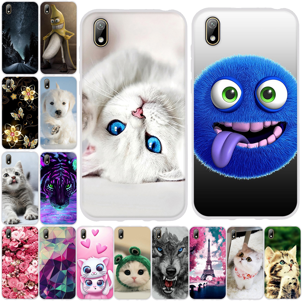 Case For Huawei Honor 8s Case Silicone Funda For Huawei Y5 2019 Case TPU Coque Phone Case For Huawei Honor 8s Ksa-lx9 Back Cover