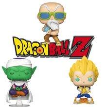 FUNKO Amine de Dragon Ball Z NYCC Kame Sennin VEGETA figura de acción PICCOLO juguetes de modelos coleccionables para los niños regalo de Navidad