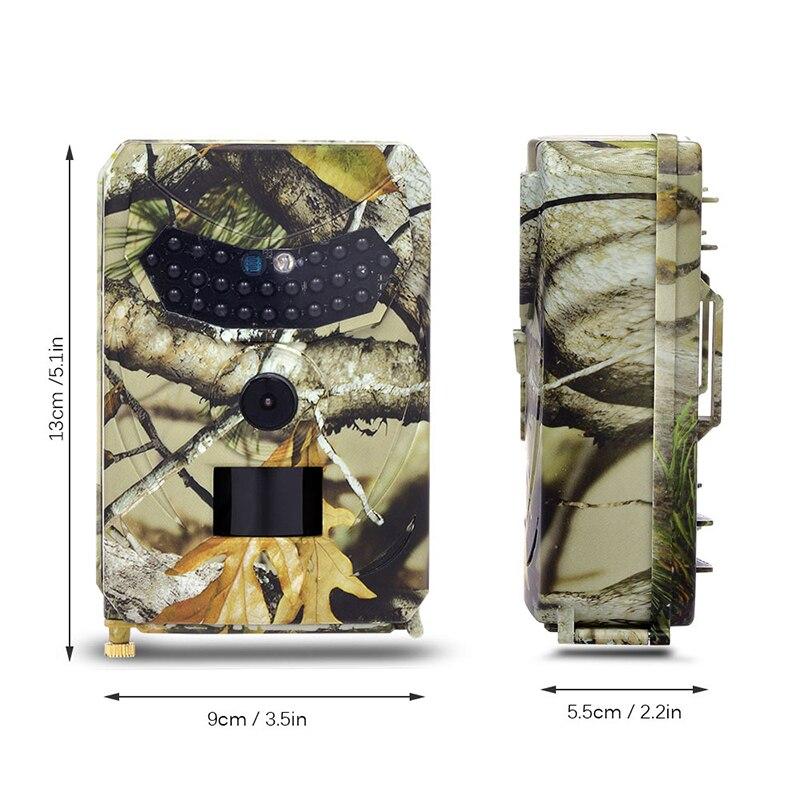 1080P 12MP HD outdoor Trail cámara Video vida silvestre infrarrojo visión nocturna 12 meses tiempo en espera Global ROM Xiaomi Redmi 7 4GB RAM 64GB ROM teléfono móvil azul Snapdragon 632 Xiomi 12MP 4000mAh Cámara batería de pantalla completa