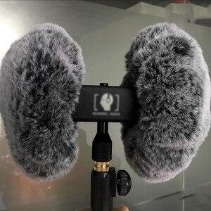 Image 5 - Mikrofon szyba przednia do nagrywarek 3DIO HeadRec do 3DIO wolna przestrzeń obuuszna mikrofon futro zewnętrzne do ASMR martwy kot Furry szyba