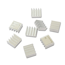 Pcooler RHS-02 Reinem aluminium Ultra-dünne Chip kühlkörper 8 teile/satz Mit klebstoff Für RAM grafikkarte Kühlung