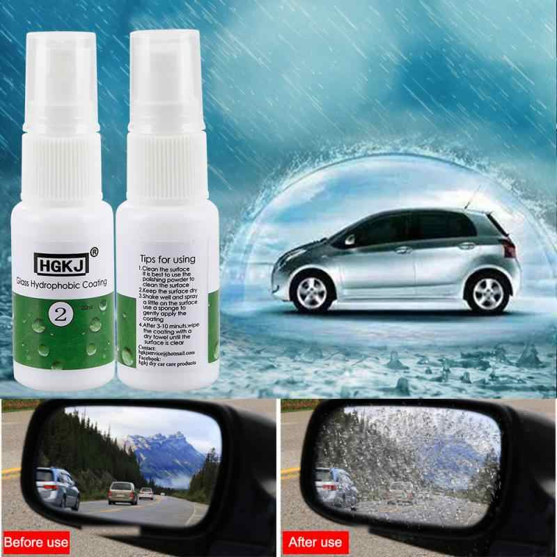 HGKJ-2-20ml Cars Anti-rain spray Rainproof Nano Hydrophobic Coating Glass Hydrophobic Coating Waterproof Auto Care Accessories