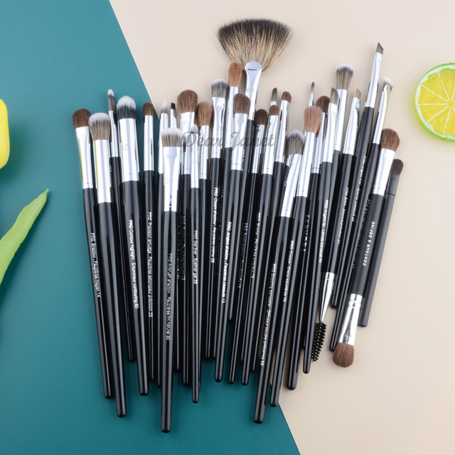 Pro Makeup brushes Eyeshadow detail eye make up brush Concealer highlight smudge crease blending shadow eyebrow liner Lip